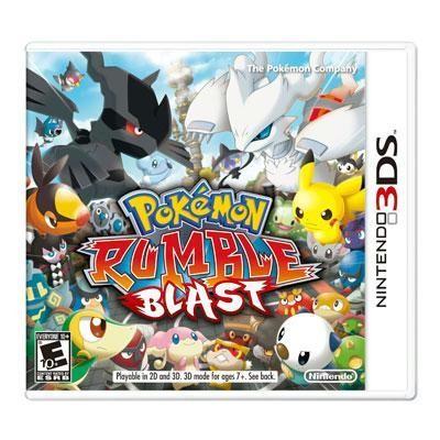 Pokemon Rumble Blast 3DS