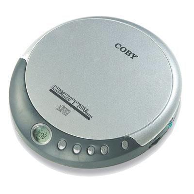 Portable Cd Player Silver