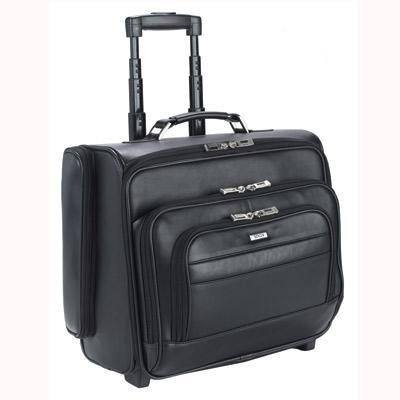 Rolling Laptop Overnighter Blk