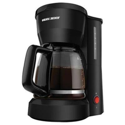 Bd 5c Coffee Maker Glscrf Blk