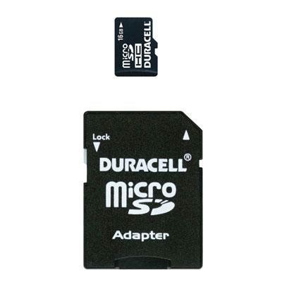 16gb Micro Sd Card W Adaptor