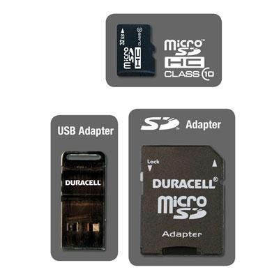 Duracell 32gb Micro Class 10