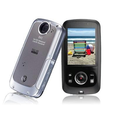 5MP WP HD Dig Camcorder-Gray
