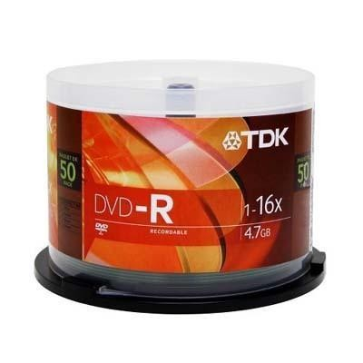 Dvd-r 16x In 50 Pack Spindle