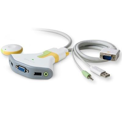 Flip Wireless Usb 2-port Kvm