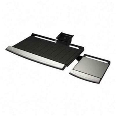 Keyboard Tray Black/silver