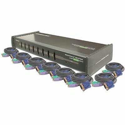 8 Port Kvm Kit W. Cables