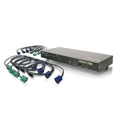 8-port Combo Vga Kvmp Switch