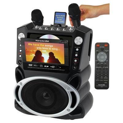 DVD CDG MP3G Karaoke System