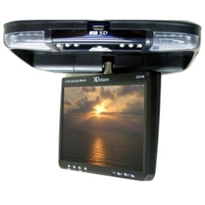 """9\"""" LCD Monitor with DVD Player"""