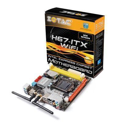 Zotac H67-itx Wifi Mb