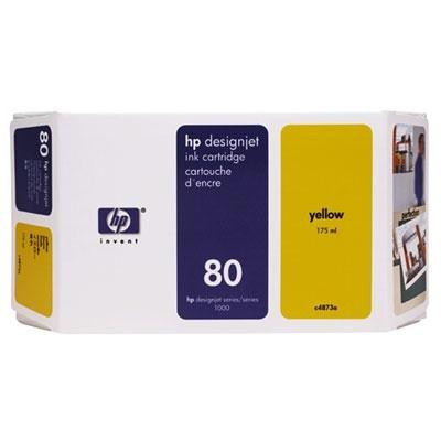 Hp 80 Highcap Yellow Catridge