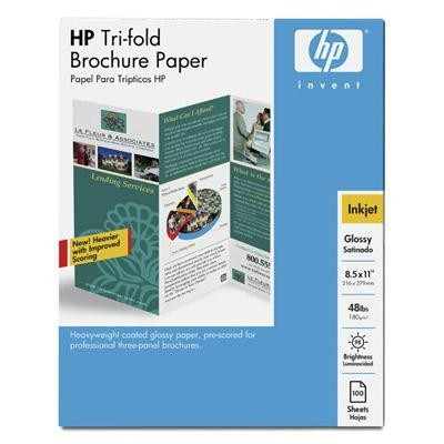 Inkjet Glossy Tri-fold Brochur