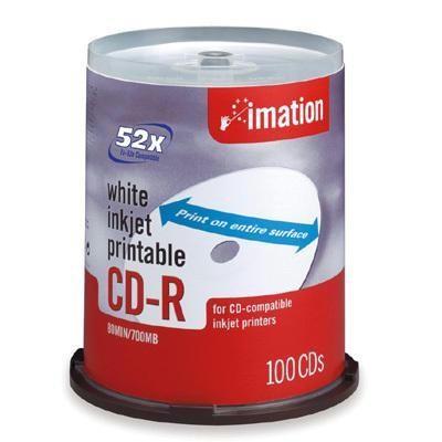 52x CD-R 700 MB/80 Min 100 Pac