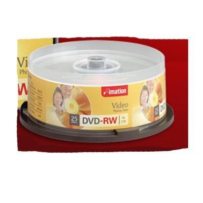 4x Dvd-rw 4.7gb 25pk Single-si
