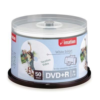 16x Dvd+r 50pk White Print