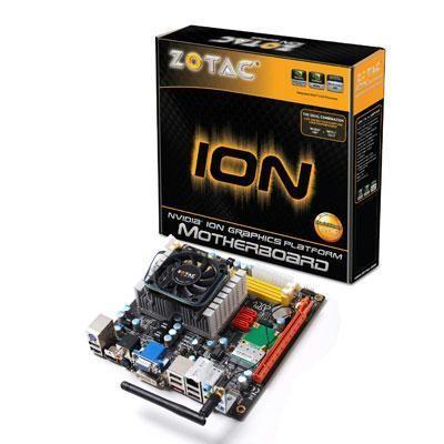 ION mini-ITX Celeron 743