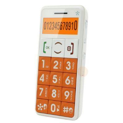 Just5 Cell Phone Orange
