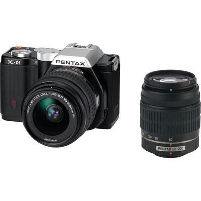 K01 Dig Cam 16mp 2 Lens-blk