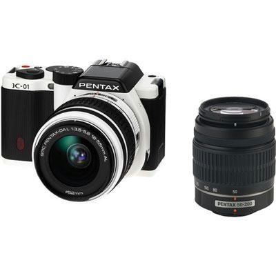 K01 Dig Cam 16mp 2 Lens-white