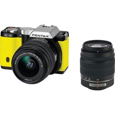 K01 Dig Cam 16mp 2 Lens-yellow