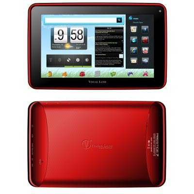 "Prestige 7"" Tablet Red ICS"