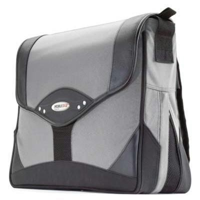 Prem Messenger Bag Silver/blac