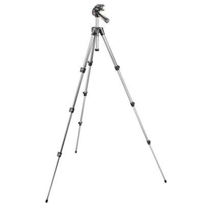 Tripod with 3-way head with QR