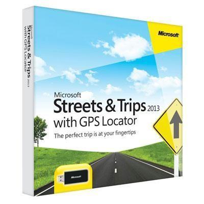 Streets & Trips 2013 Gps