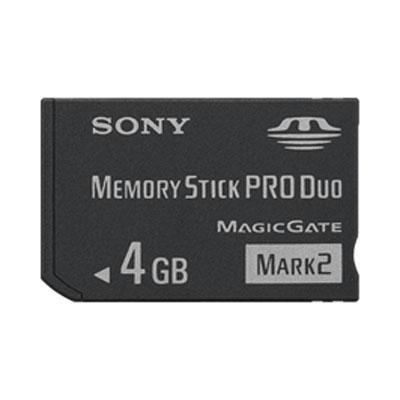 4GB MS PRO Duo Mark2 Media