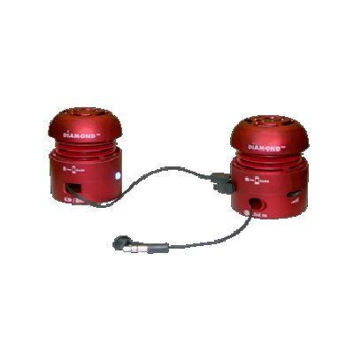 Mini-rocker Speakers Red