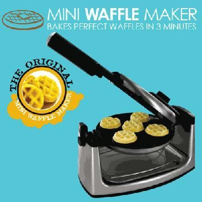 Mini Flip Belgium Waffle Maker