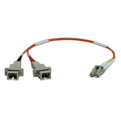 1ft Lc/sc 62.5/125 Fiber Adapt