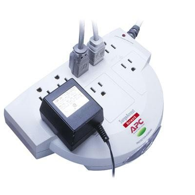 8 Outlet 480j Network Surge