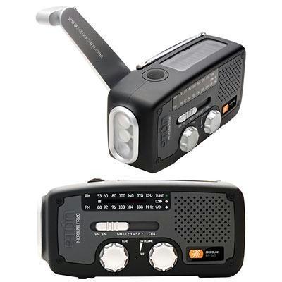 Solar Dynamo Powered Radio Blk