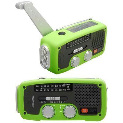Solar Dynamo Powered Radio Grn