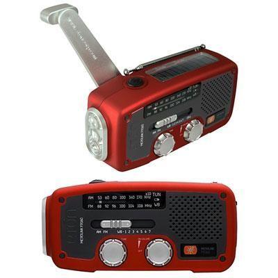 Solar Dynamo Powered Radio Red
