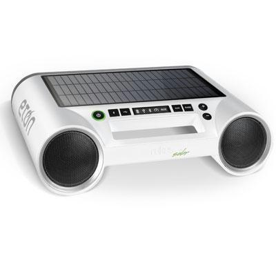 Rukus Solar Sound System White