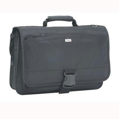 """15.4"""" Nylon Messenger Bag Blk"""