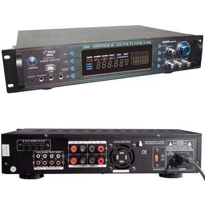 3000w Pre Amp w AM FM Tuner