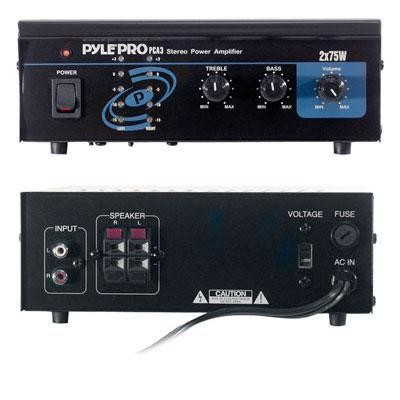 Mini 2x75W Stereo Power Amp