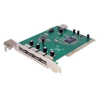 7 Port Pci Usb Card Adapter