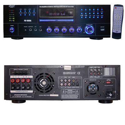 AM-FM Receiver w/ DVD/MP3/USB