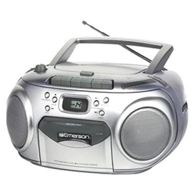 Portable CD Player w/Cassette