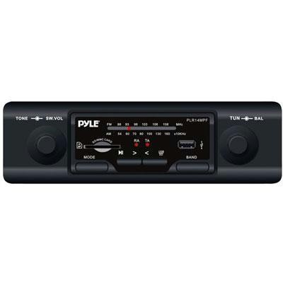 In-Dash AM/FM/MP3 w/USB