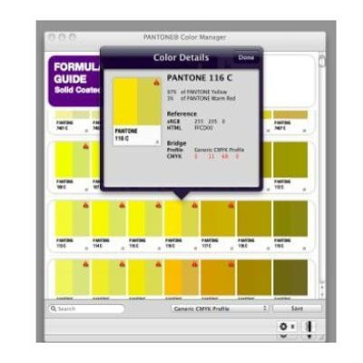 Color Manager Software (cd)