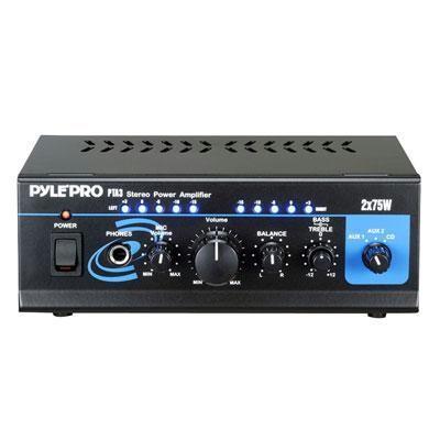 Mini 2X75 W Stereo Power Amp