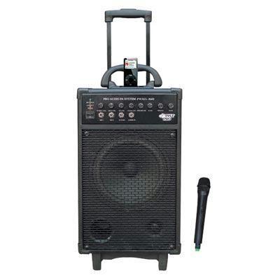 500w Vhf Wireless Portable Pa