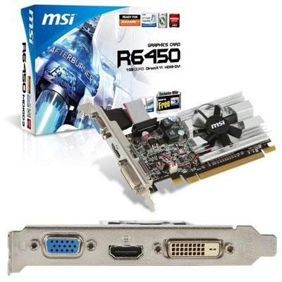 Radeon HD6450 1024MB DDR3