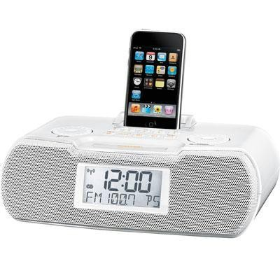 Am Fm Atomic Clock Radio Dock